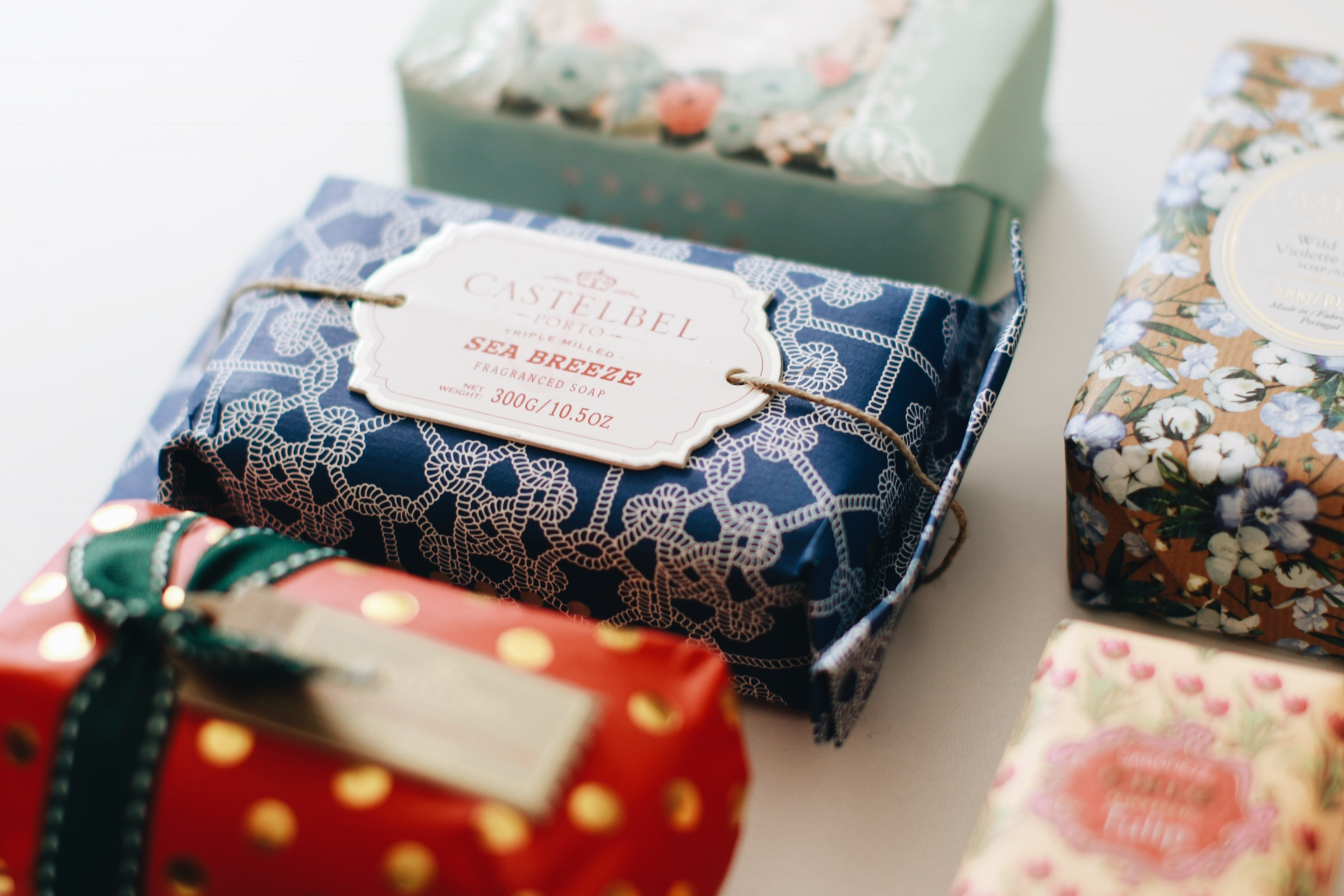 castelbel soap from portugal for luxury bath time