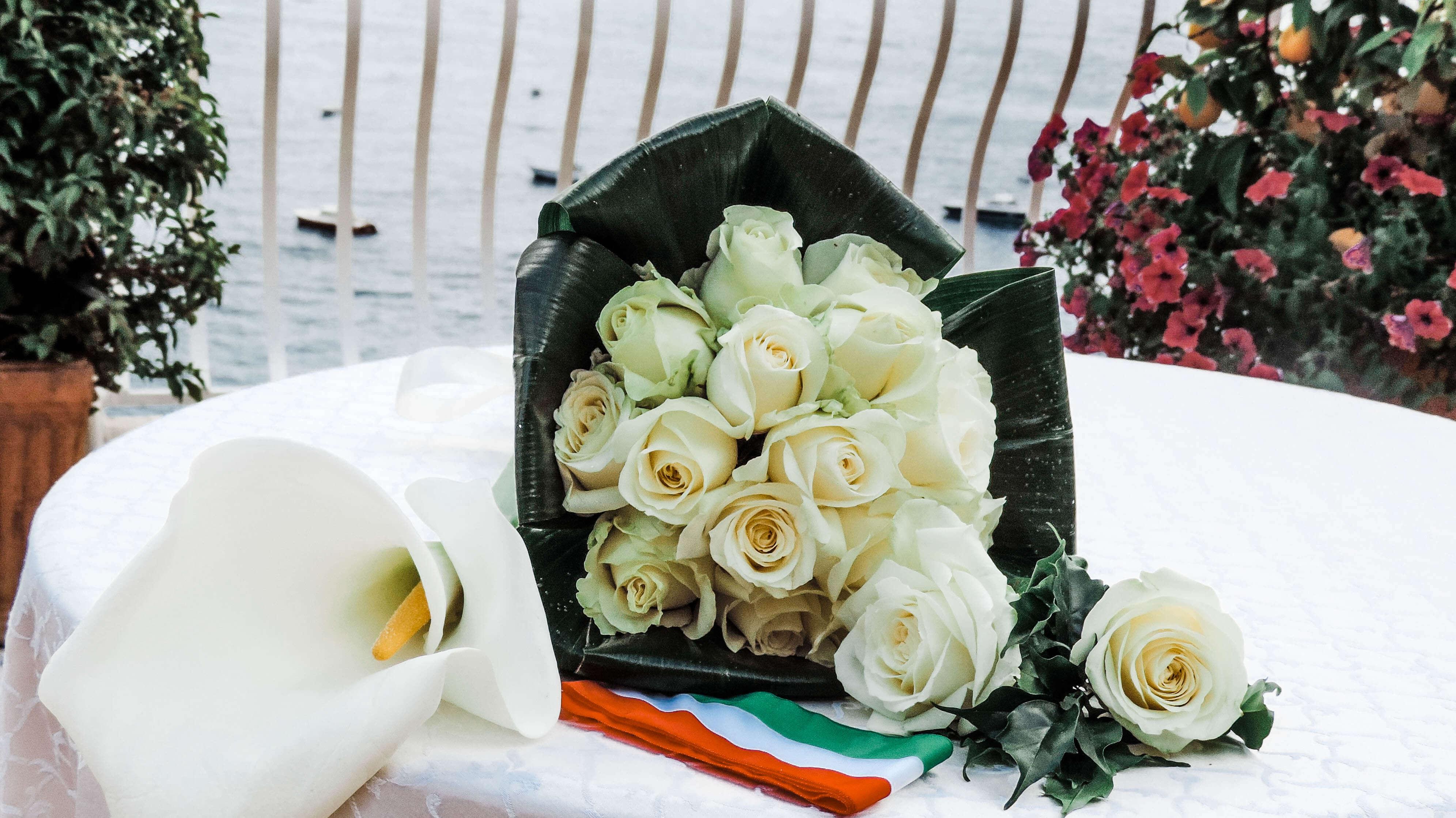 wedding flowers - renew vows