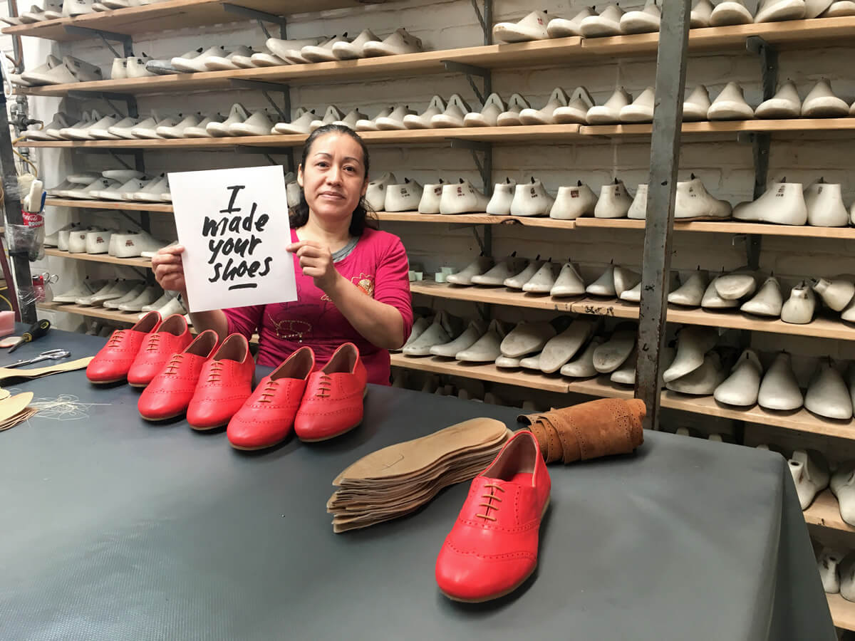 D-by-denise- Poppy Barley - Ethical Shoe Production