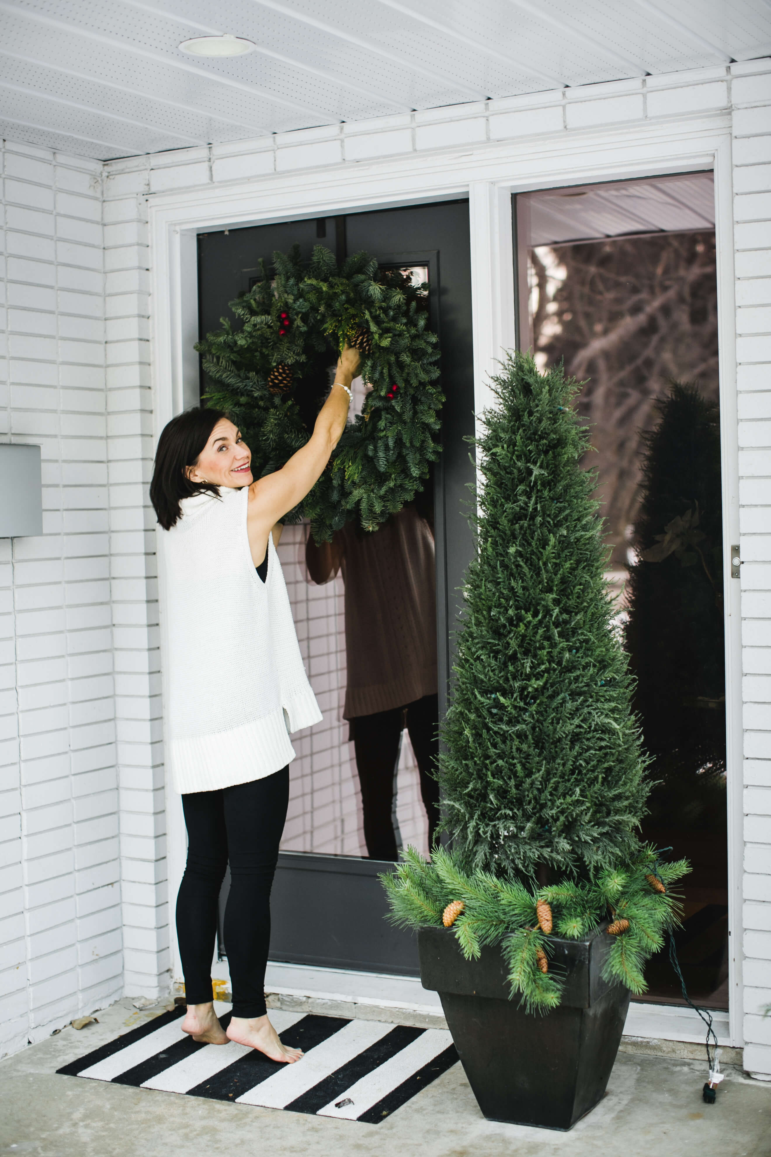 Preparing for the holiday season - outdoors