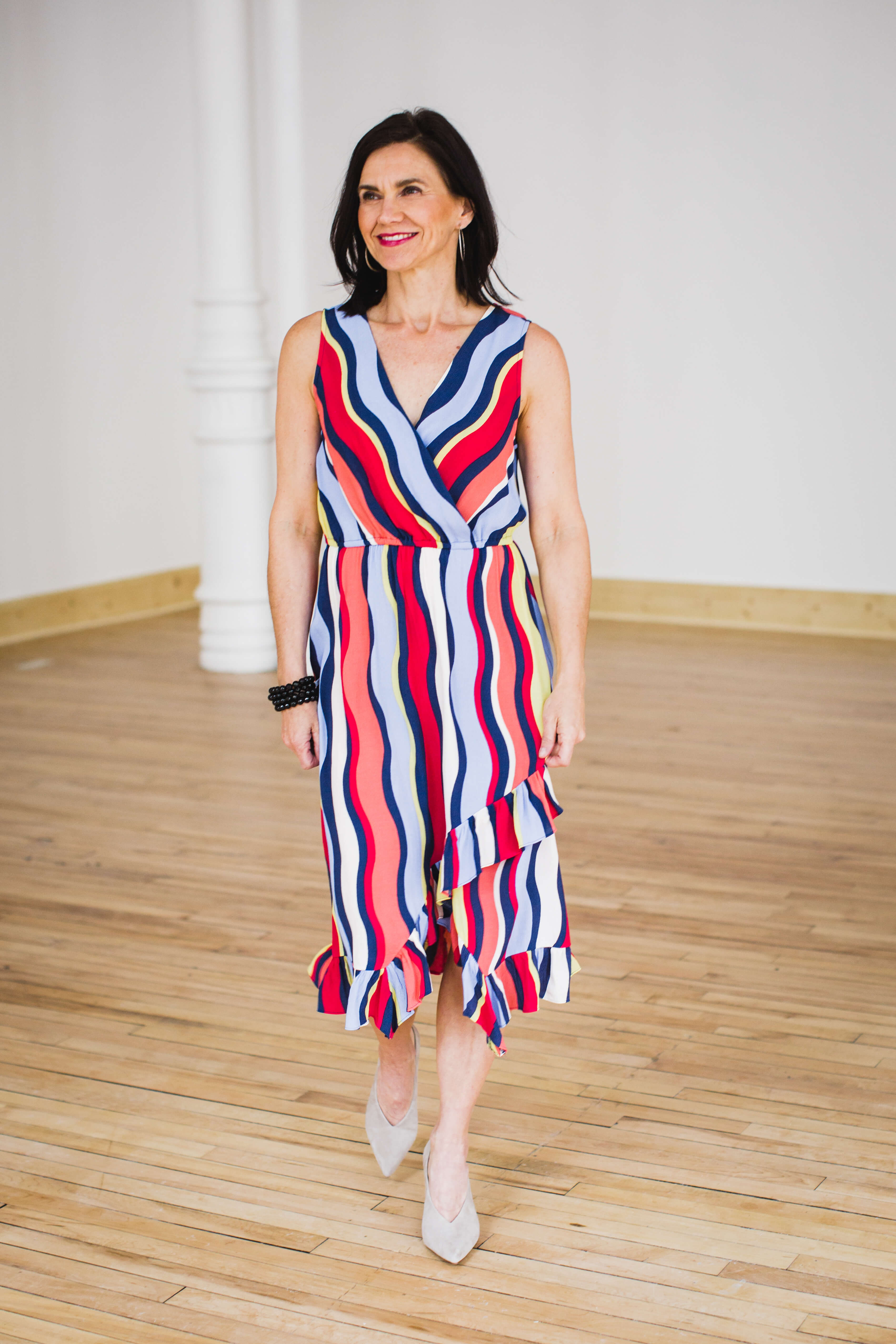 Anthroplogie - Spring Bold stripe frock - modern woman