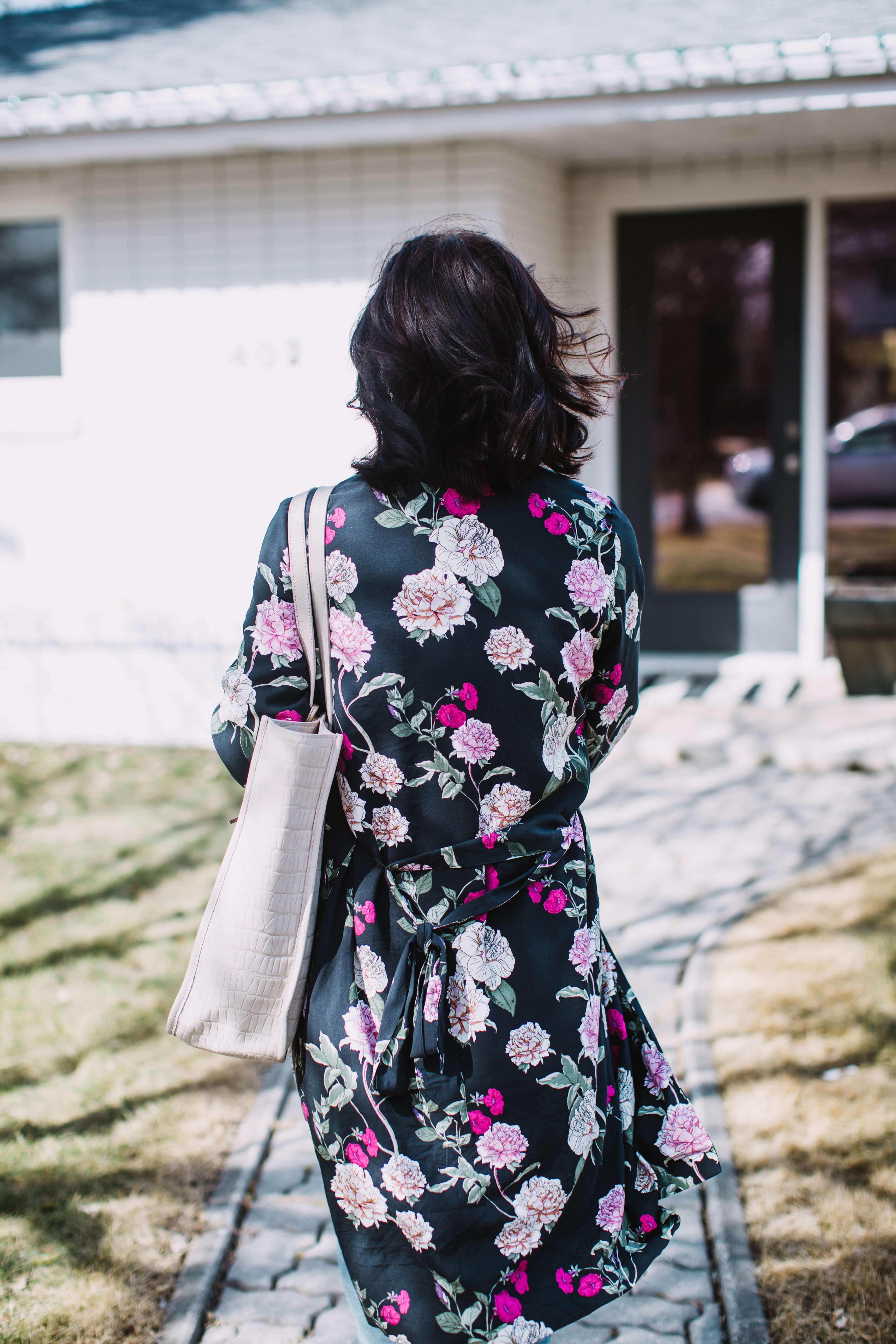Spring Style - Floral Kimono