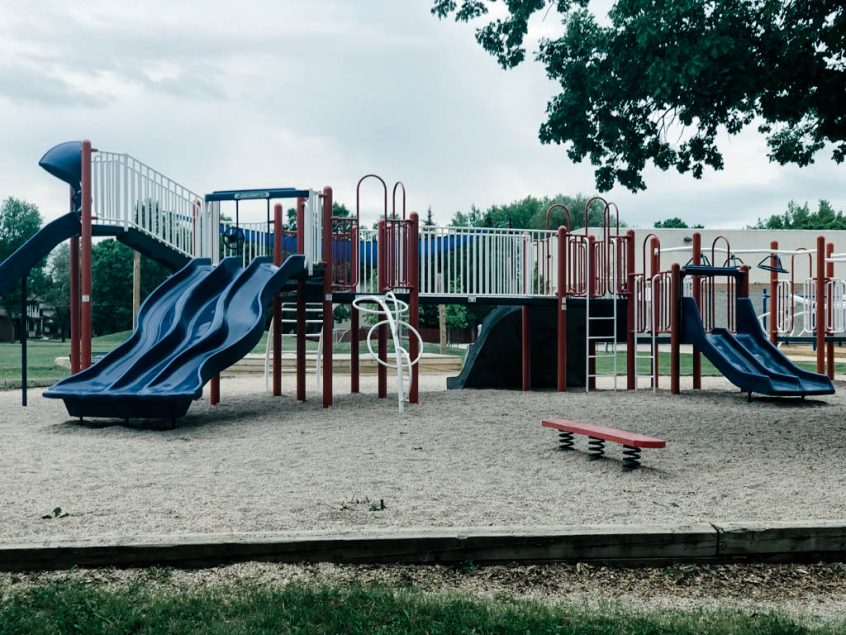 Middle Aged Playground - D by denise