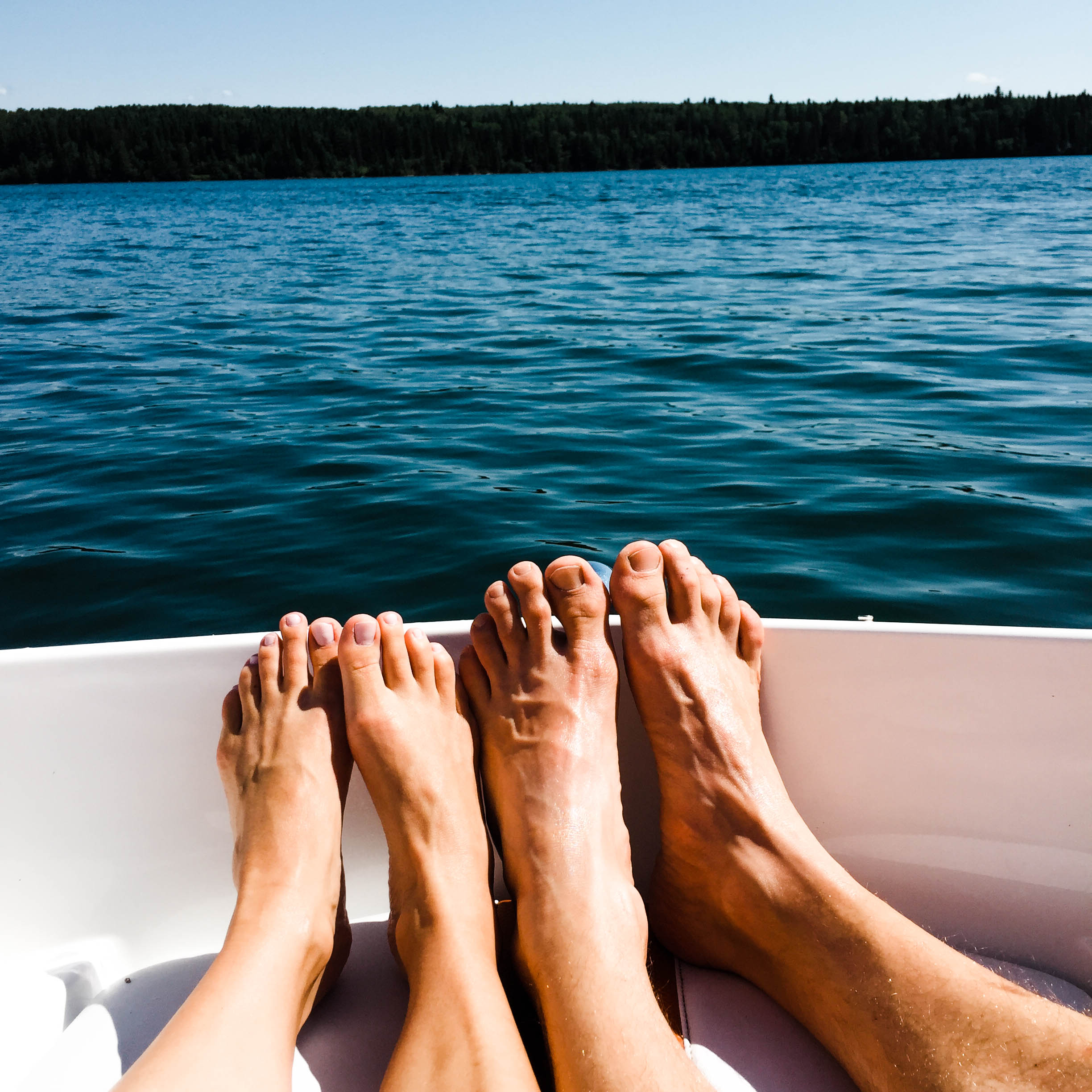 Summer boating - White Spaces D by denise
